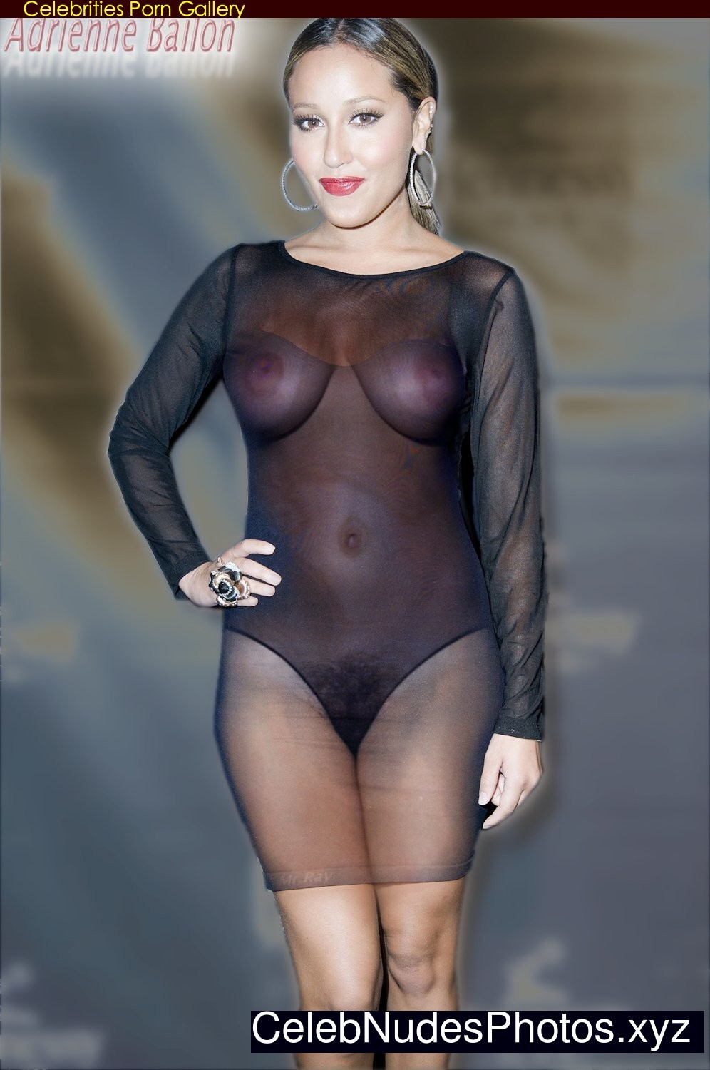 adrienne bailon semi nude photos