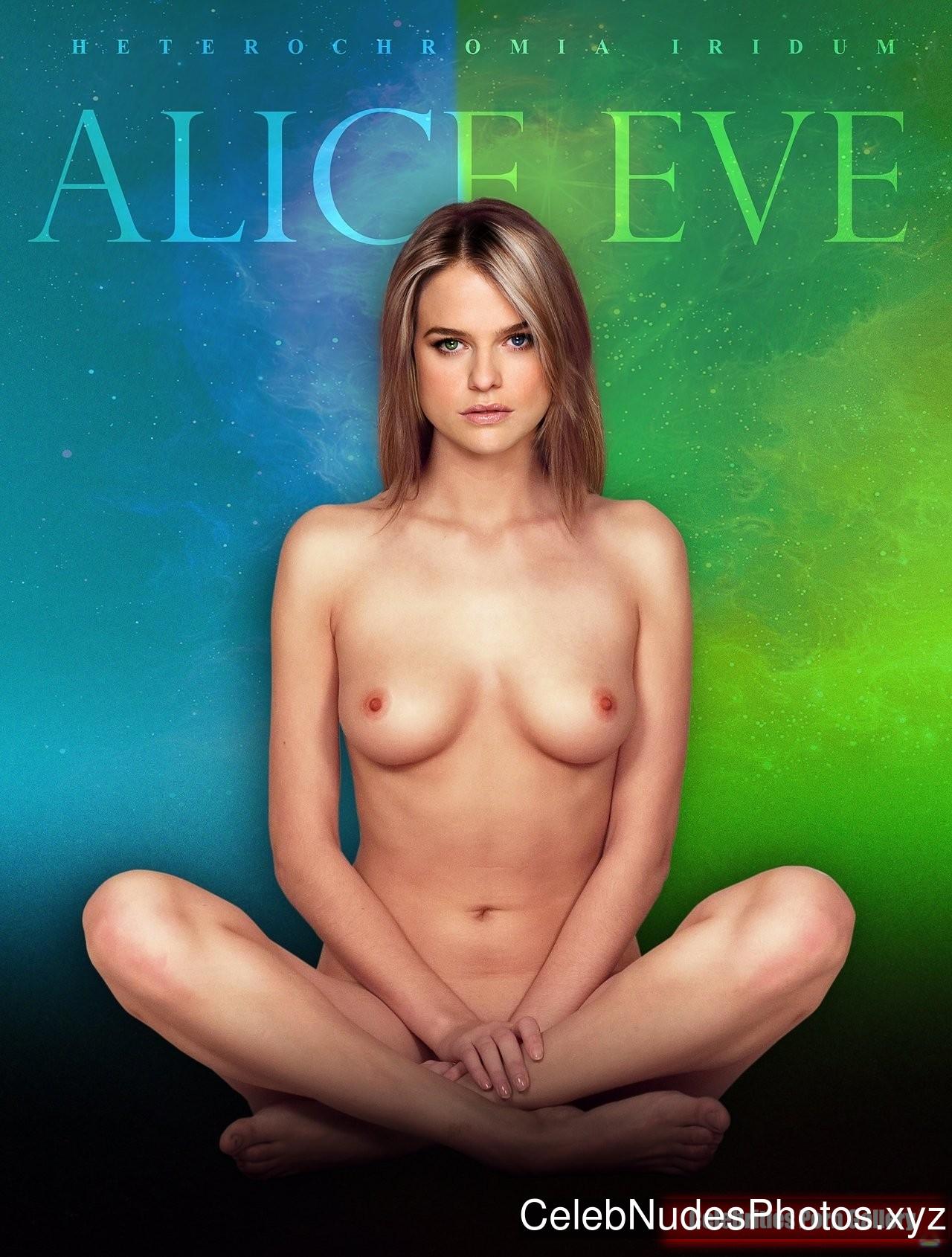 Alice Eve Celebrity Leaked Nude Photo sexy 13