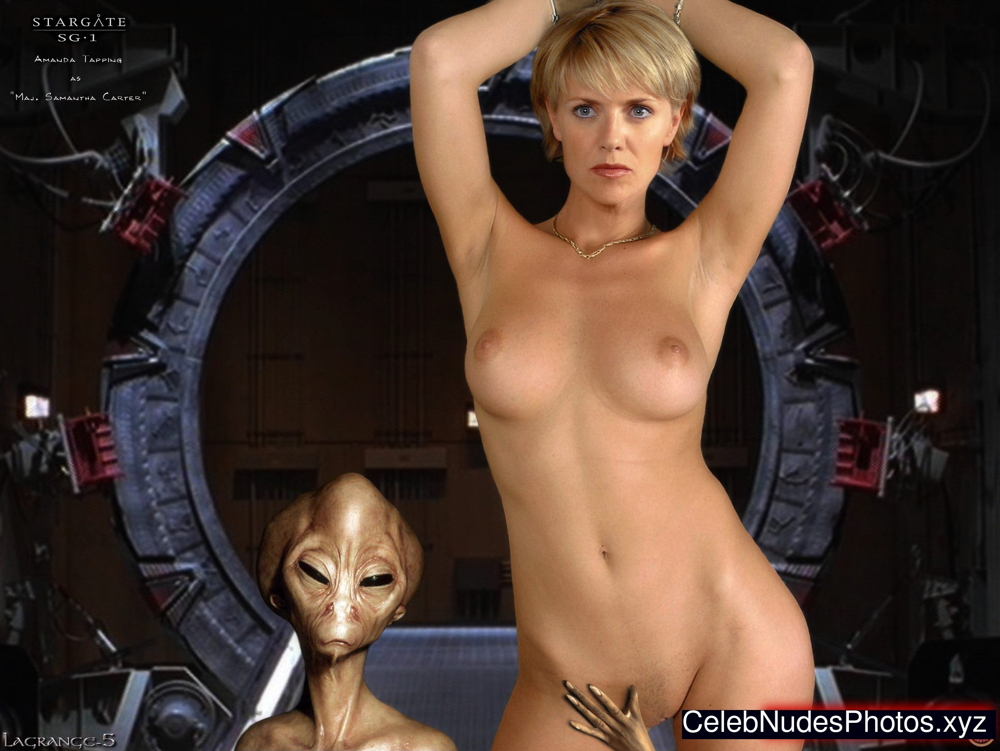 Nude amanda tapping visible