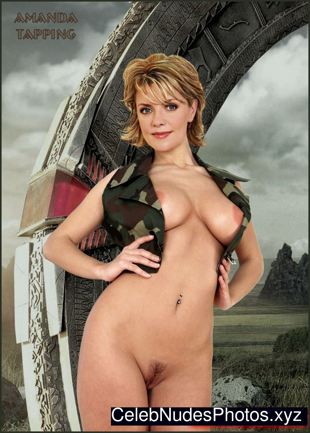 Amanda tapping nude picture free slut