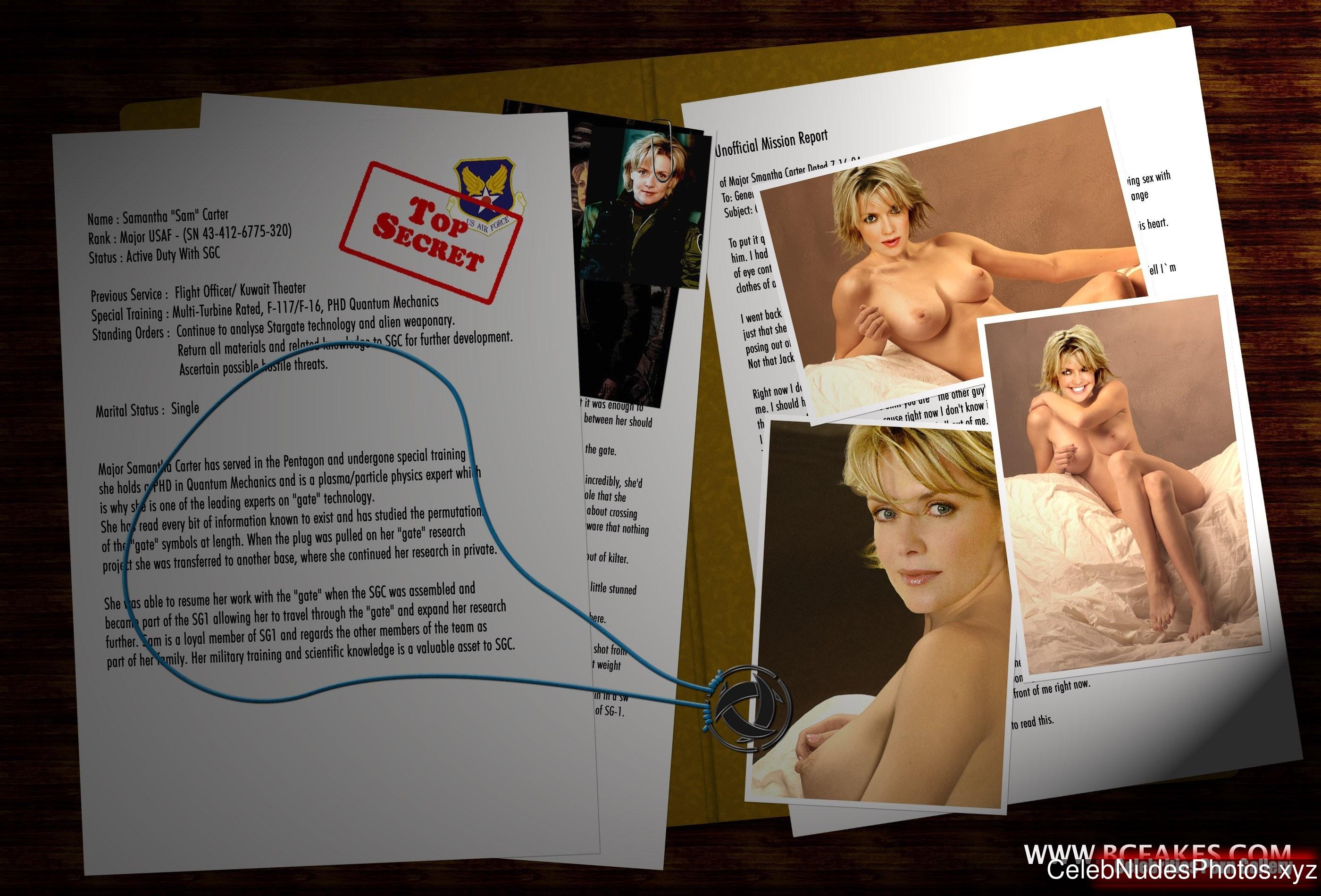 Amanda Tapping Free Nude Celeb sexy 1