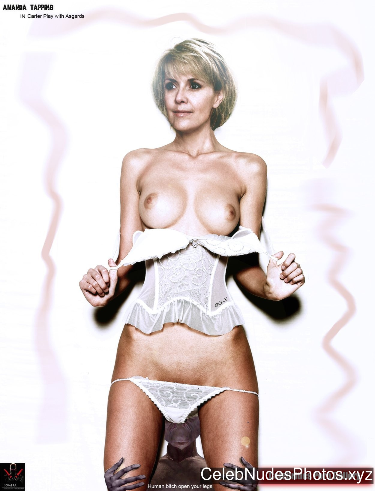 Amanda Tapping Naked Celebrity Pic sexy 3
