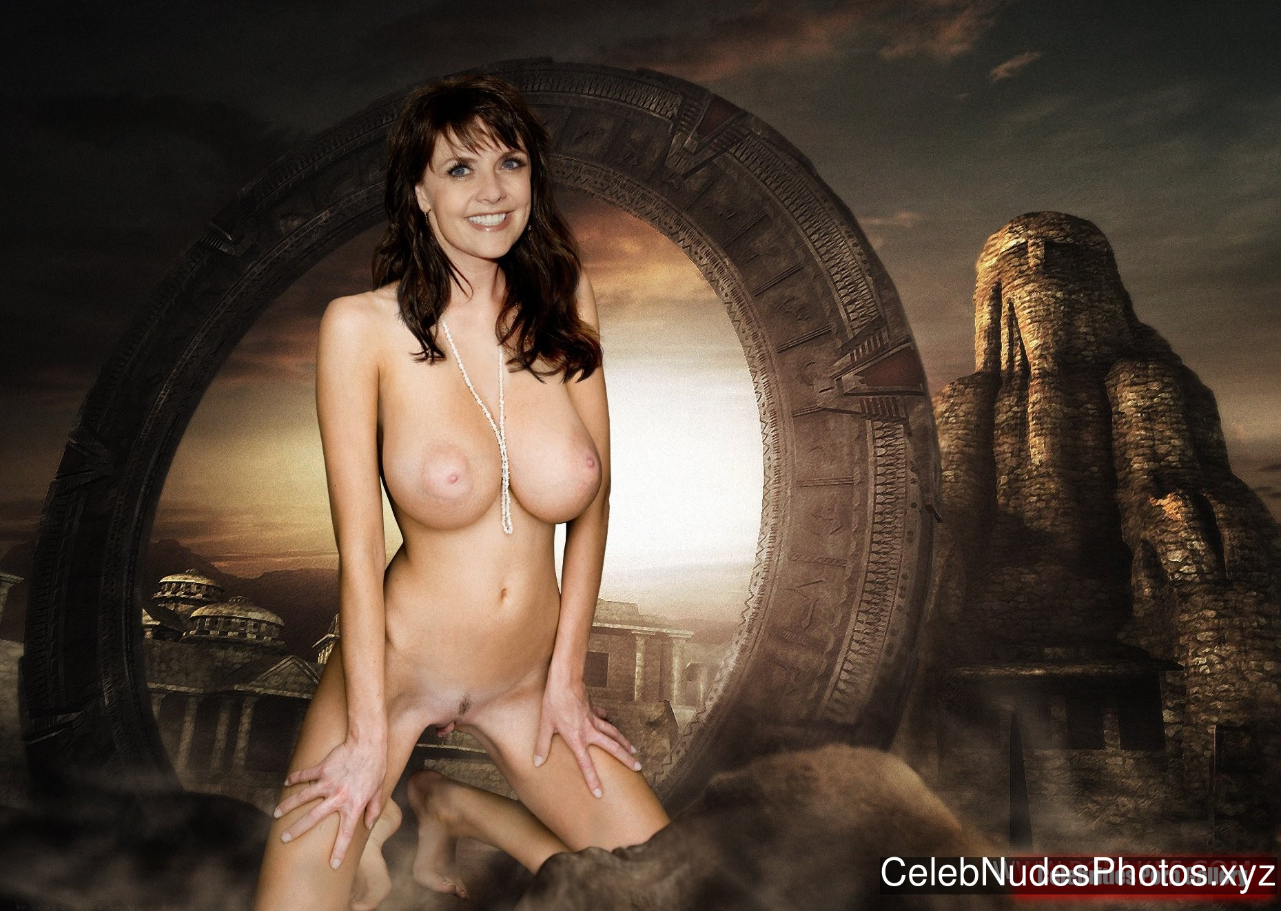 Amanda Tapping Free Nude Celeb sexy 4