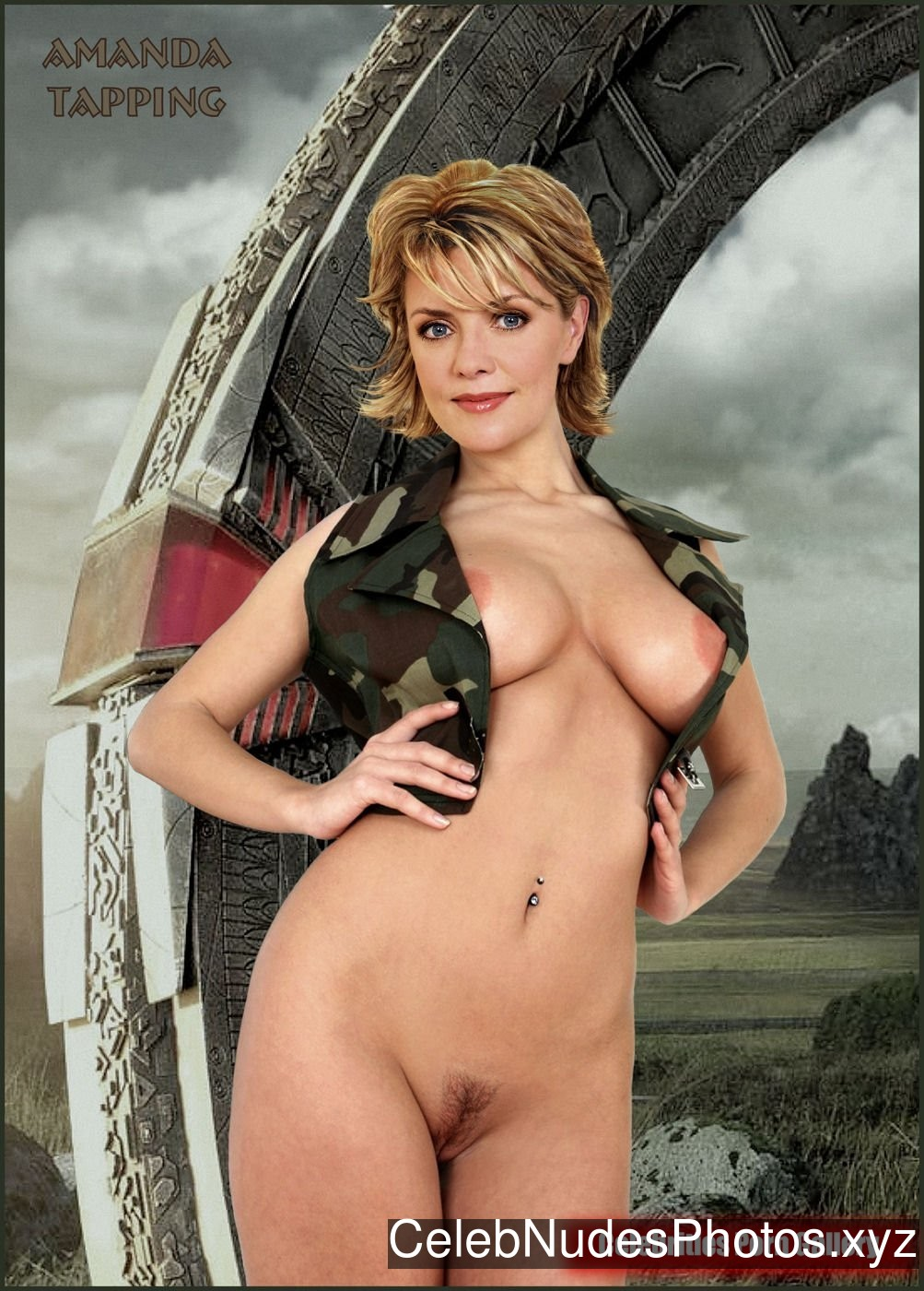 Amanda Tapping Naked celebrity picture sexy 12