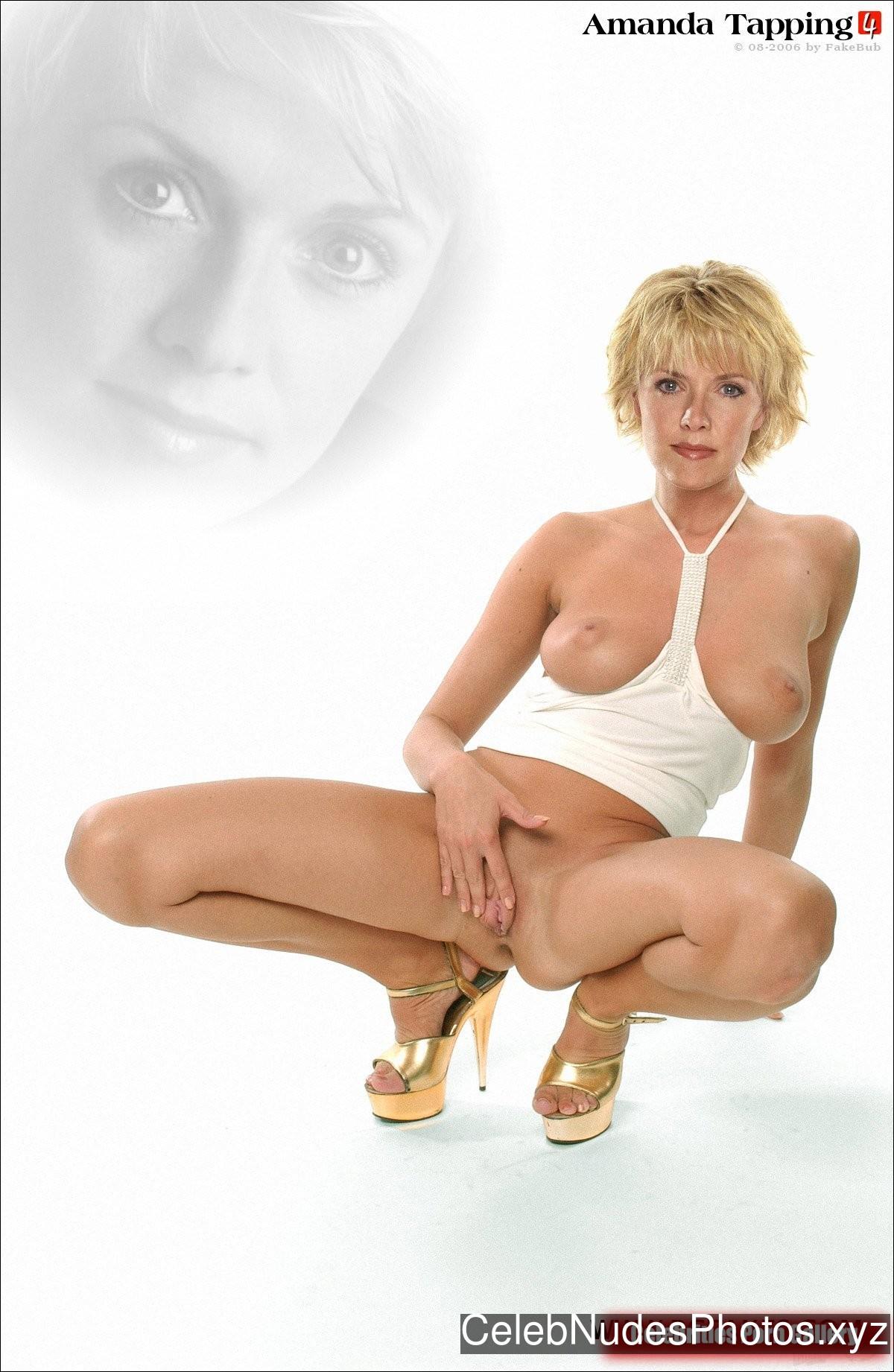 Amanda Tapping Free Nude Celeb sexy 14