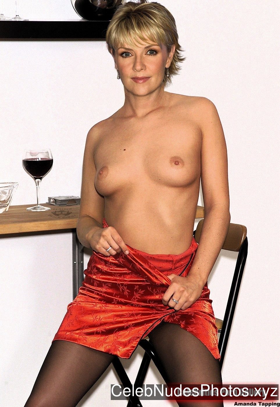 Amanda Tapping Celebrity Nude Pic sexy 19