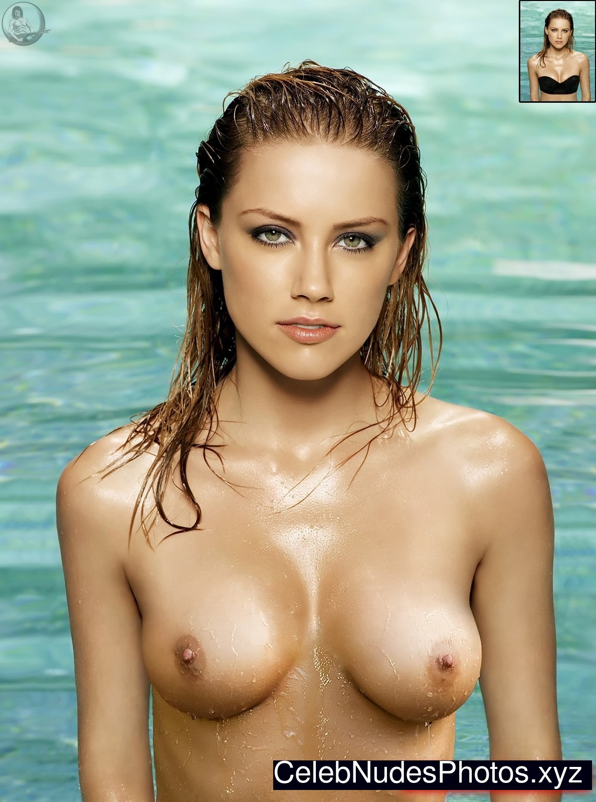 Amber Heard Naked Celebrity sexy 12