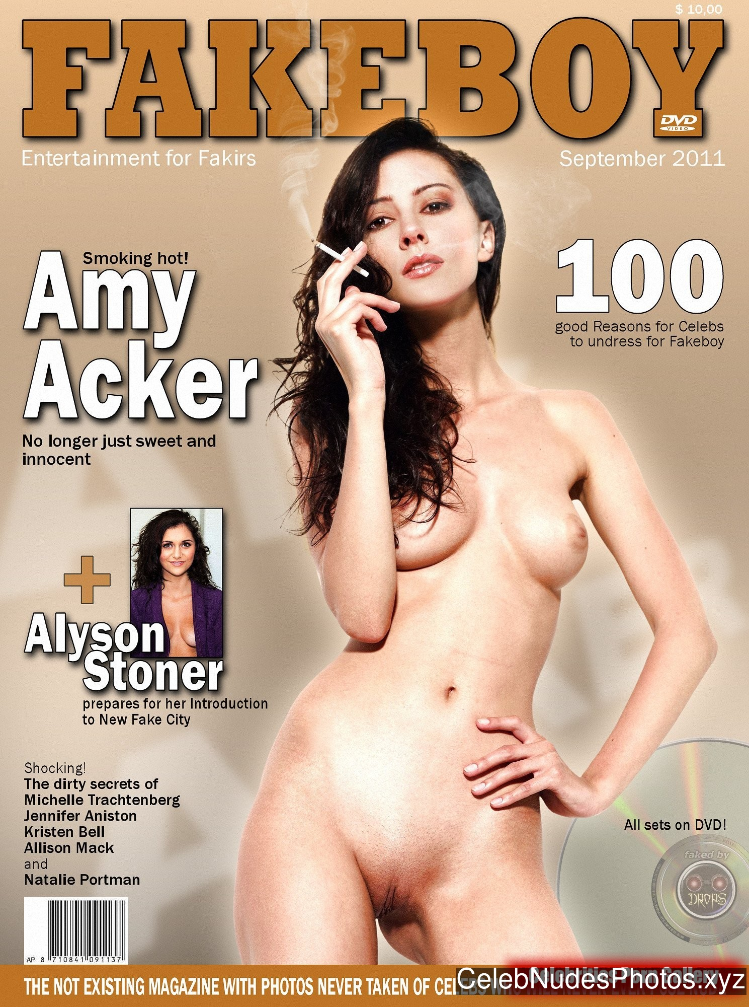 Amy Acker Hot Naked Celeb sexy 3