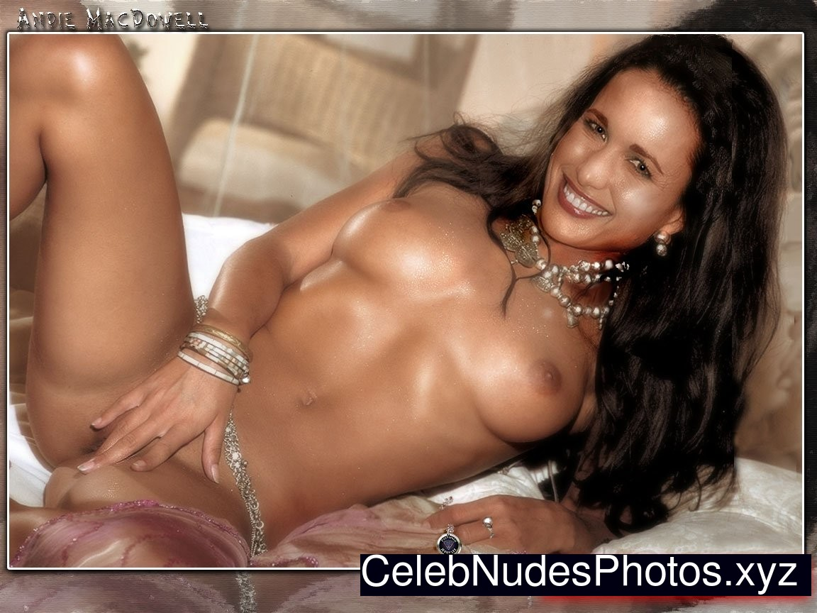 Improbable. andie macdowell nude seems