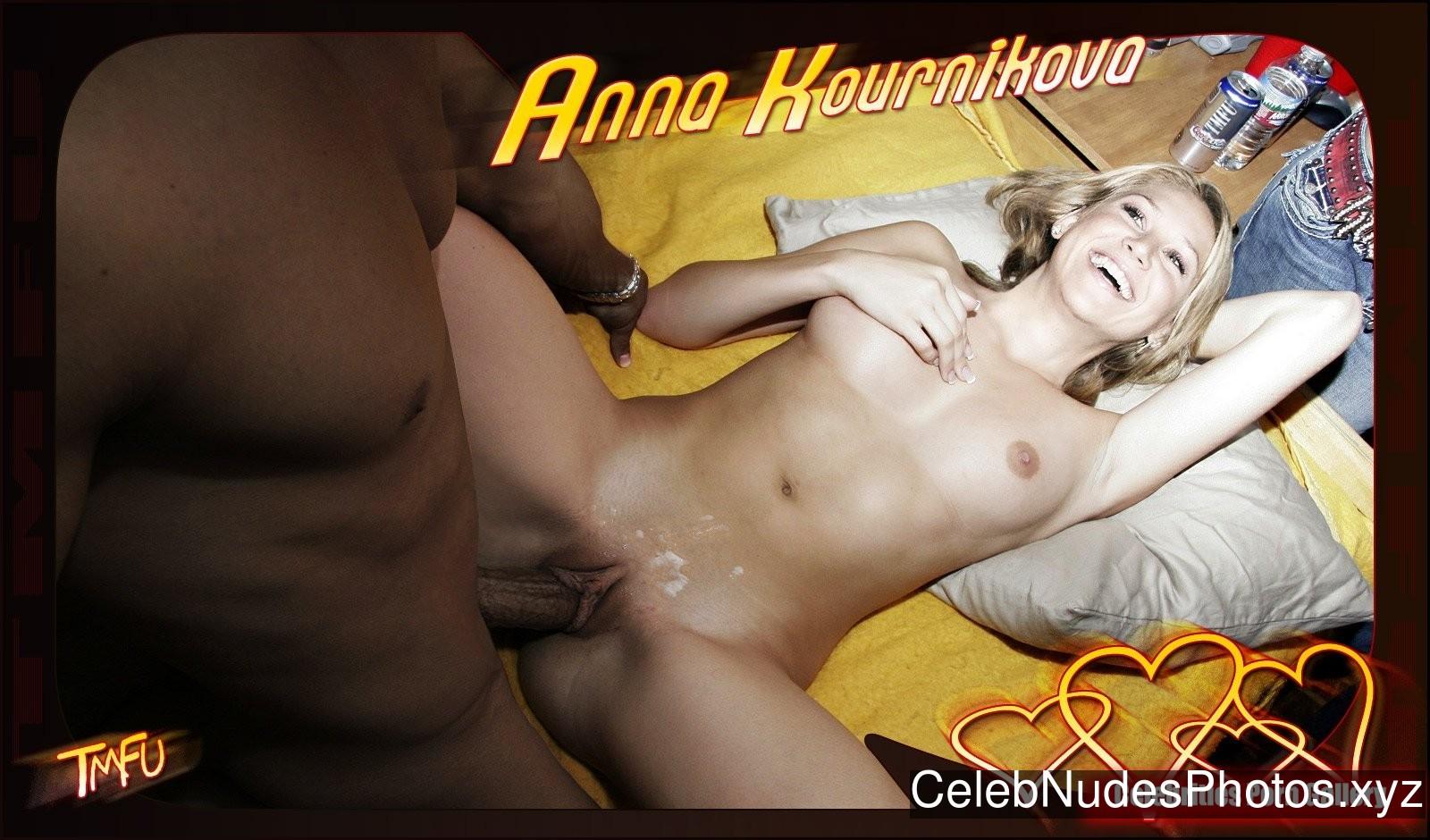 Anna Kournikova Real Celebrity Nude sexy 6