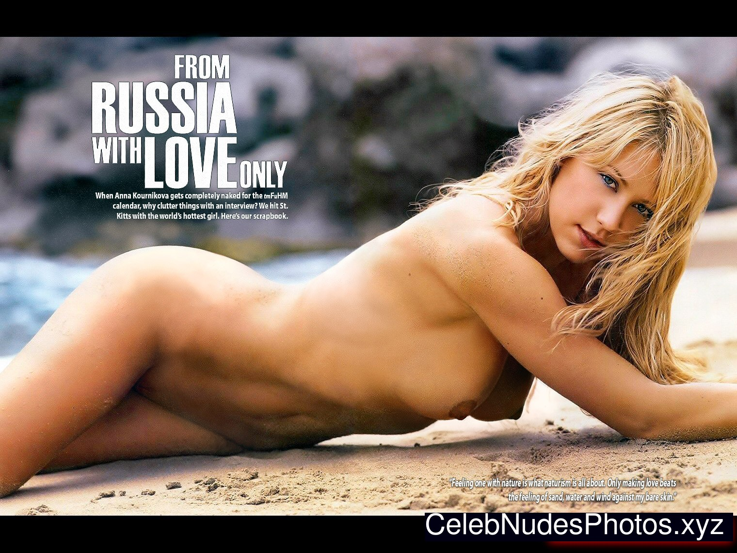anna kournikova naked ass