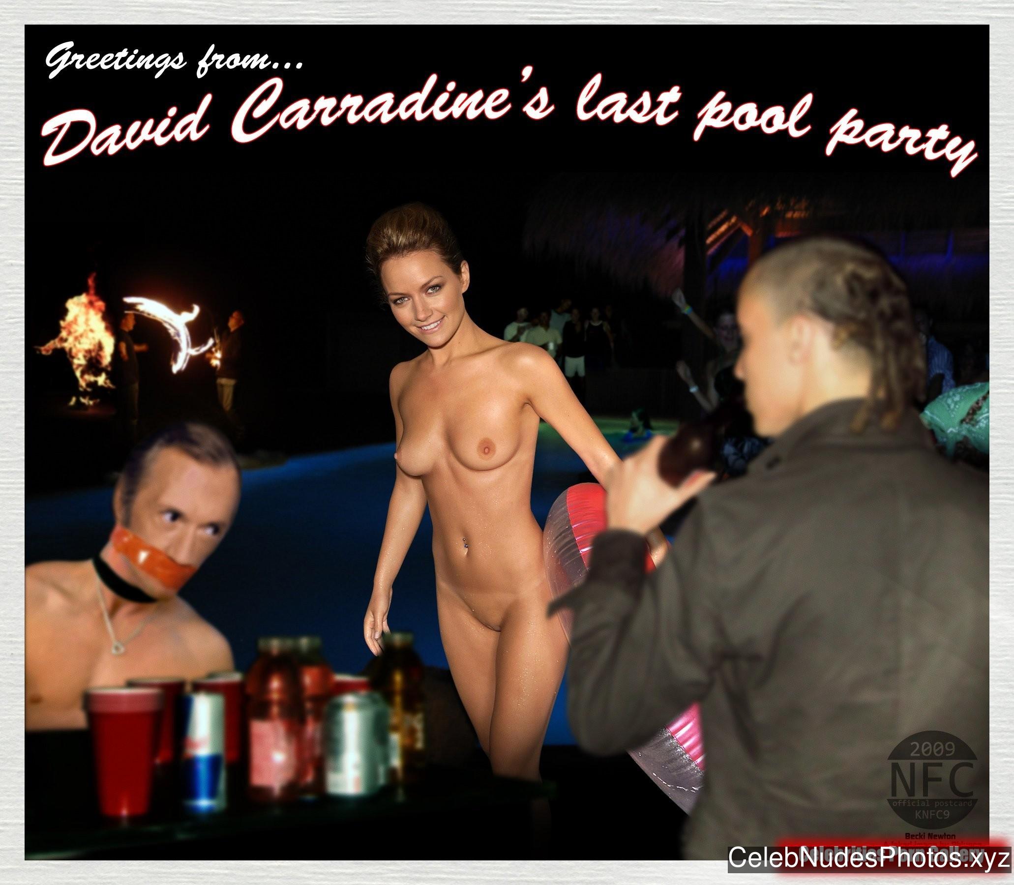 Becki Newton Famous Nude sexy 6