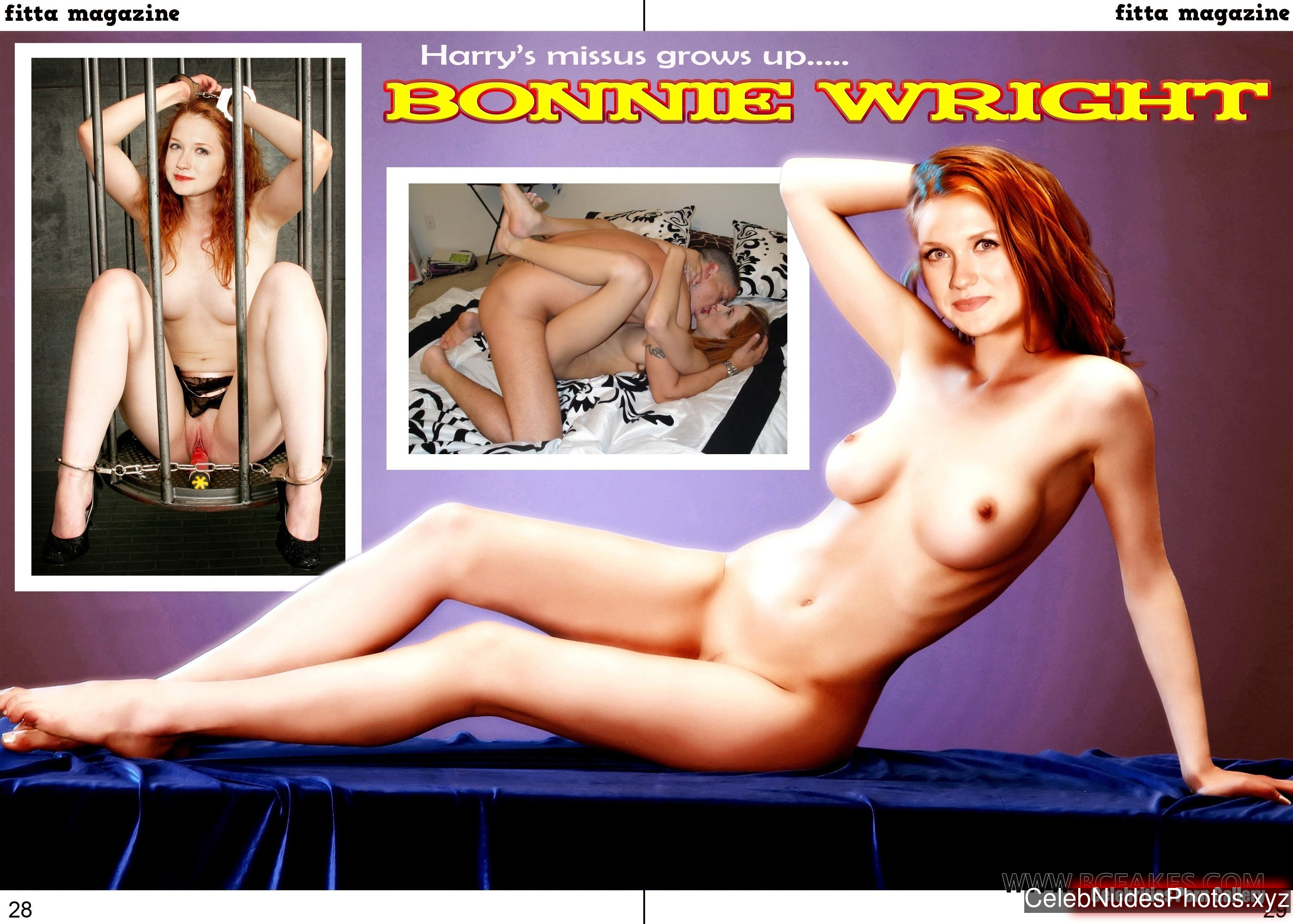 Bonnie Wright Naked Celebrity Pic sexy 13