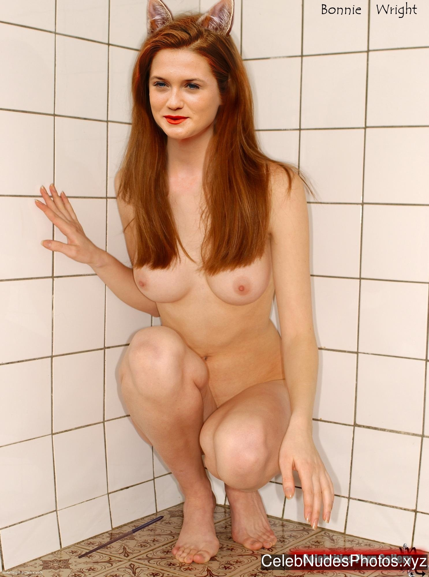 Bonnie Wright Celebrity Leaked Nude Photo sexy 17