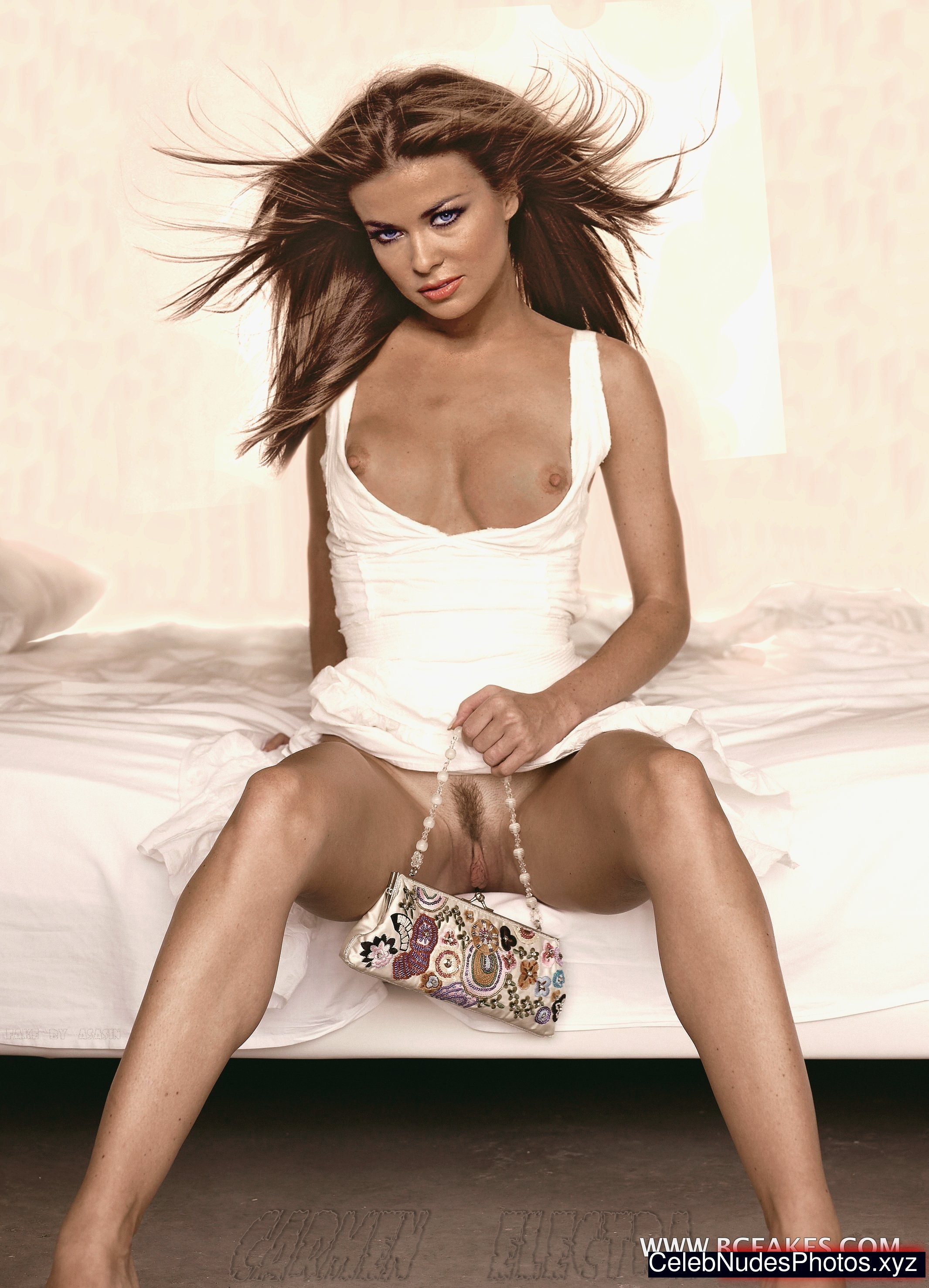 Naked screen saver carmen electra