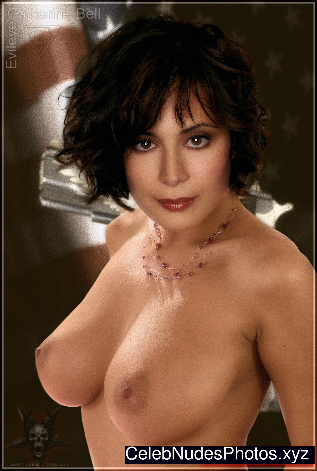 Catherine bell topless share your