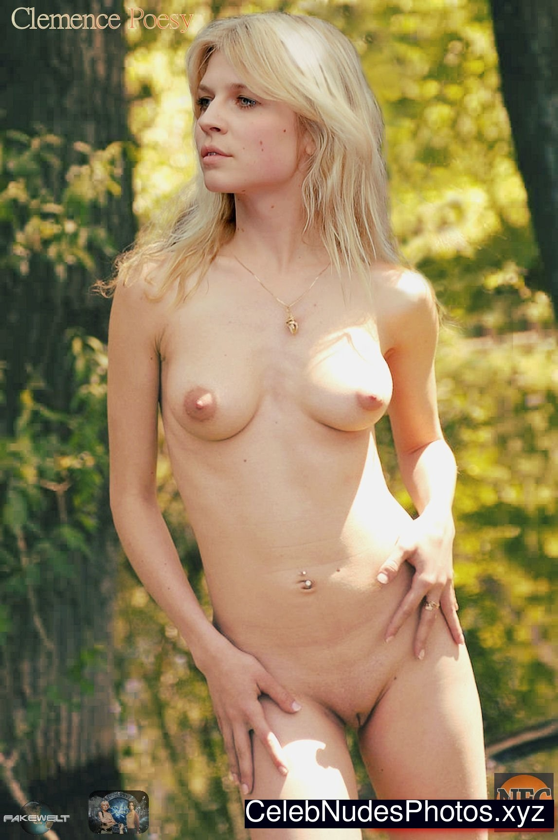 Clemence nude poesy harry potter