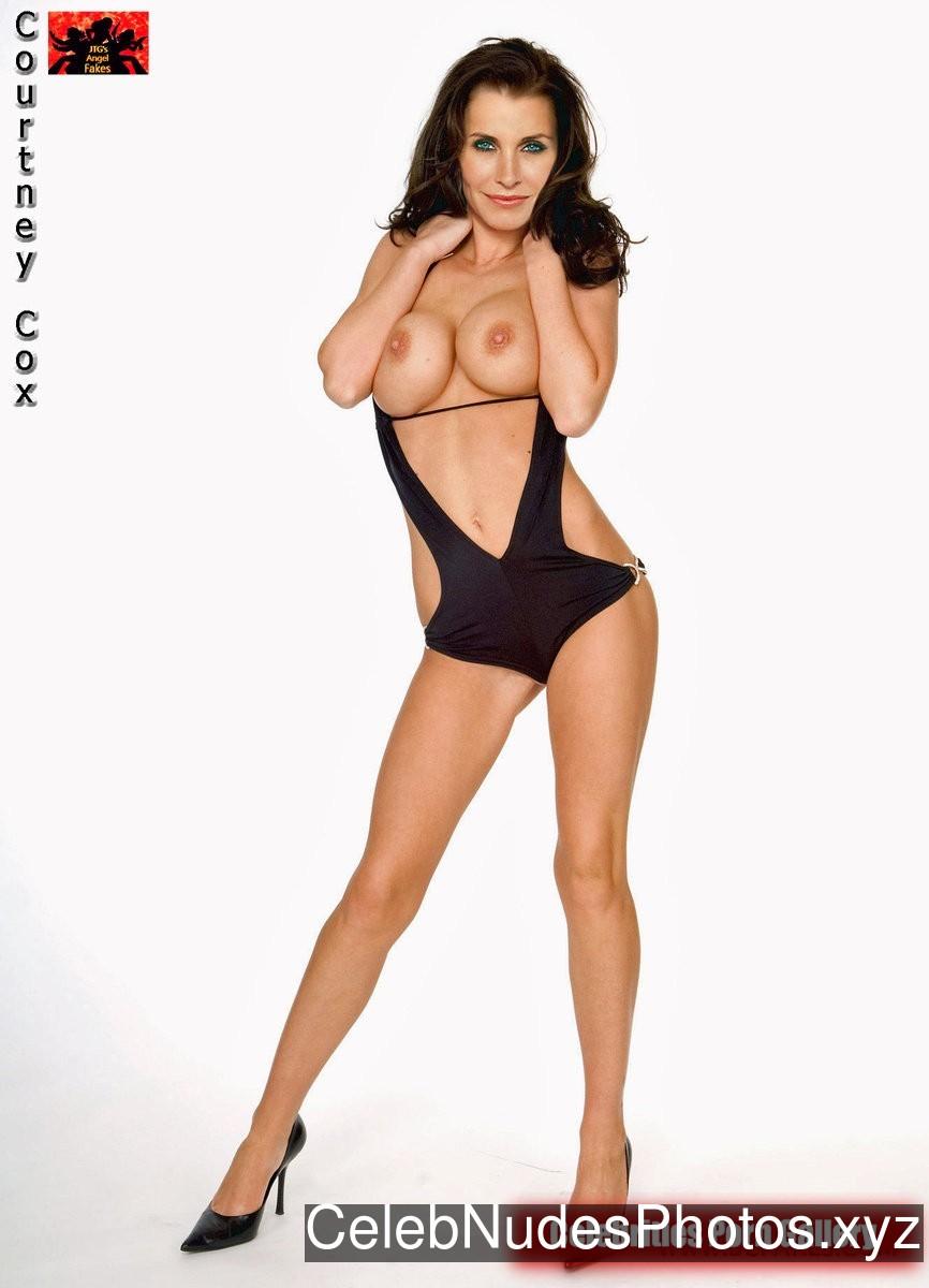 Courteney Cox Nude Celeb Pic sexy 19