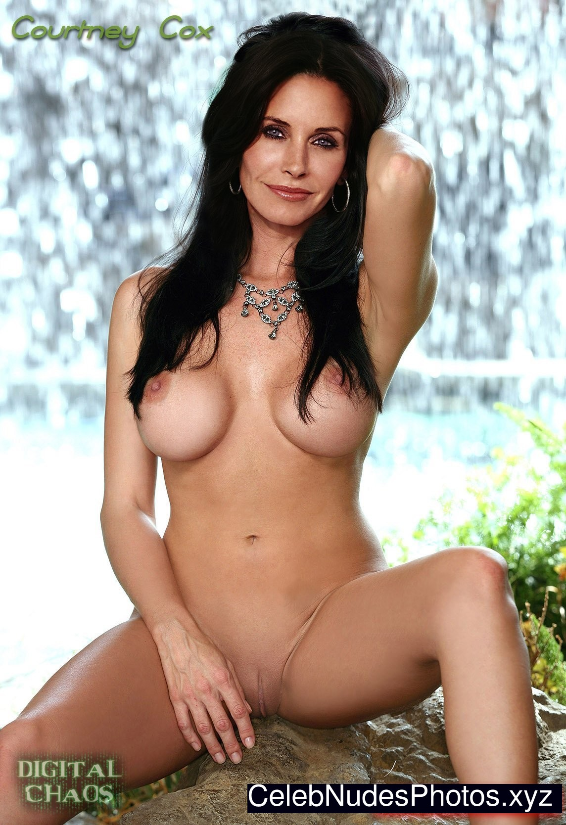 Porn nude fakes Courtney cox