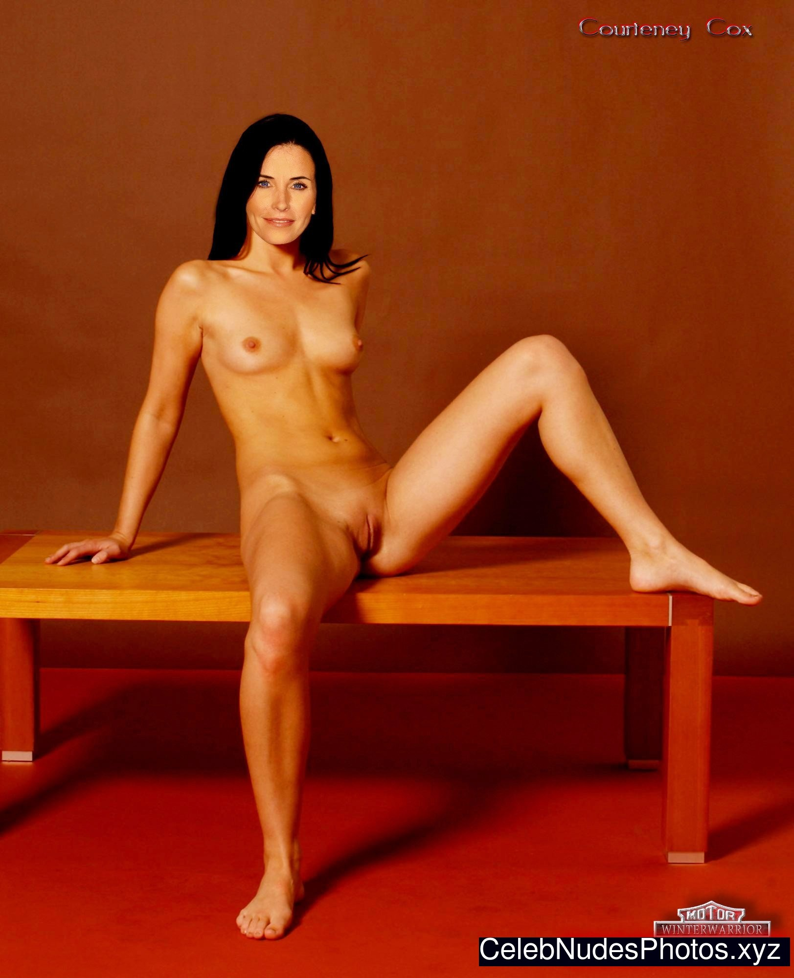 courteney cox naked
