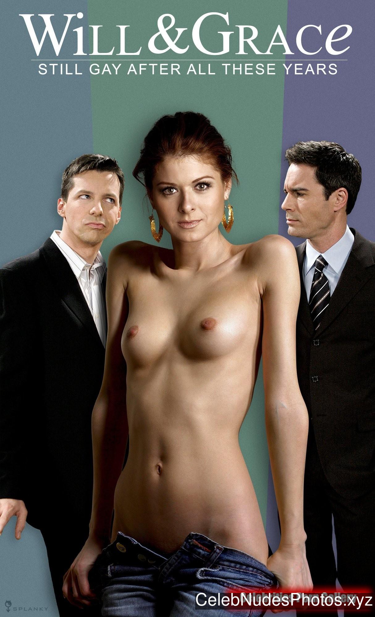 Debra Messing Nude Celeb Pic sexy 1