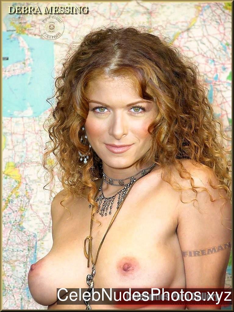 Debra Messing Celebrity Nude Pic sexy 7