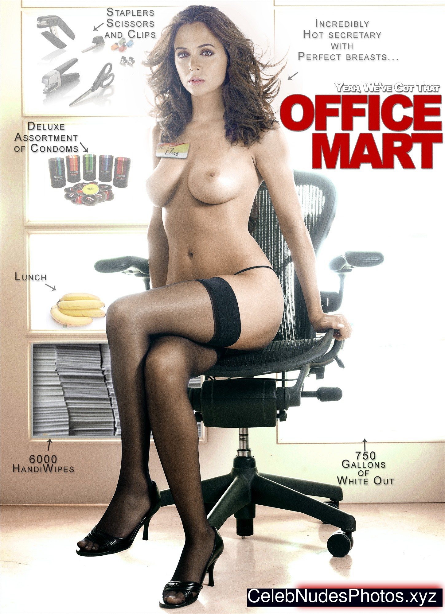 Eliza Dushku Nude Celebrity Picture sexy 27