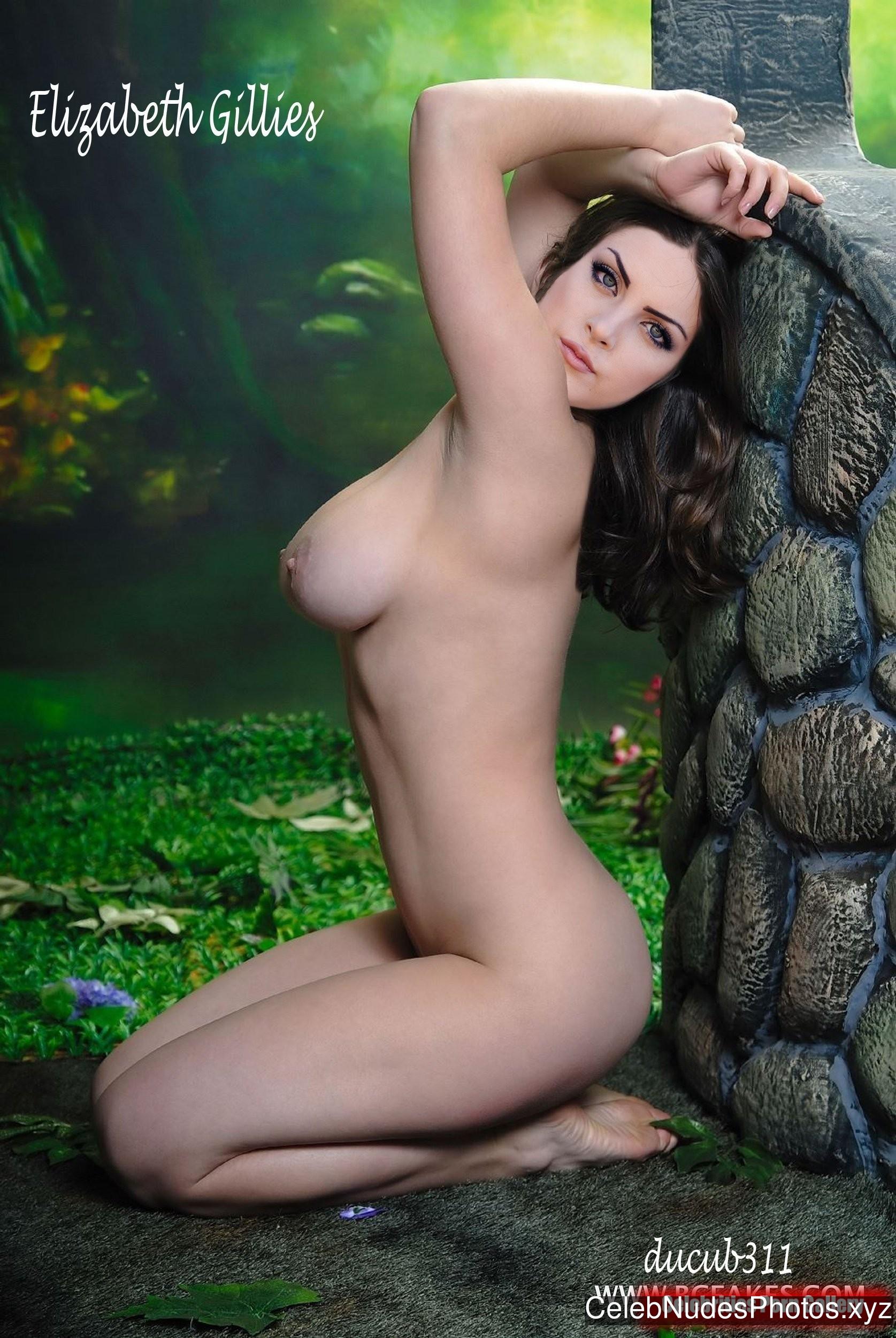 Elizabeth Gillies Naked Celebrity sexy 16