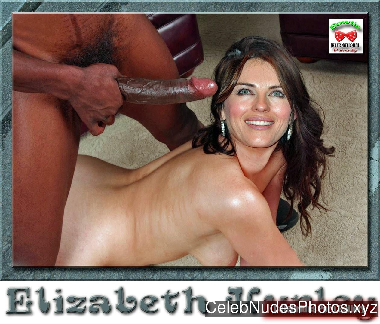 Elizabeth Hurley Nude Celeb Pic sexy 10
