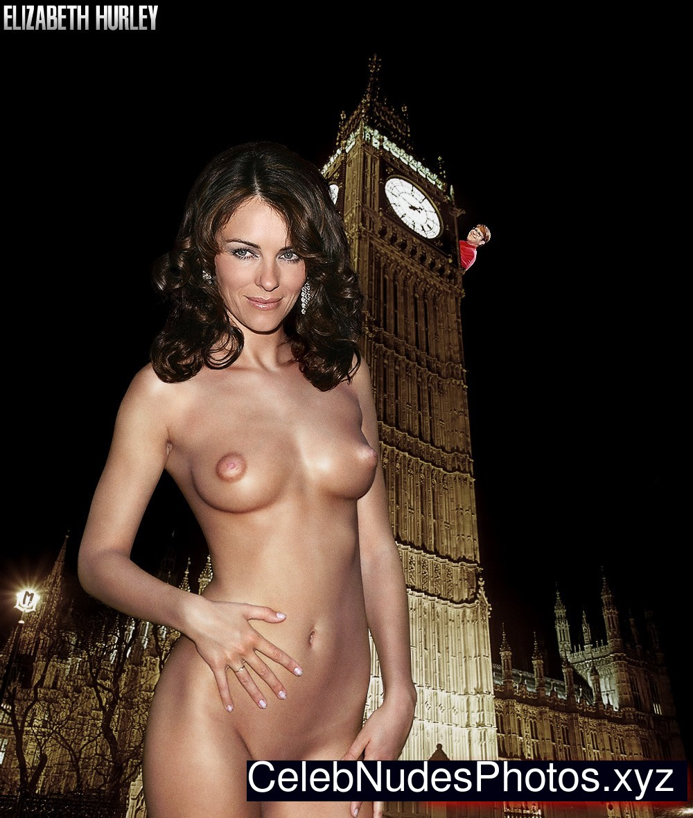 Opinion you fake elizabeth hurley nude that