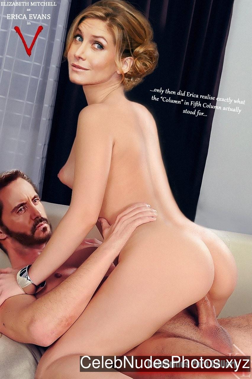 Elizabeth Mitchell Celebrity Nude Pic sexy 12