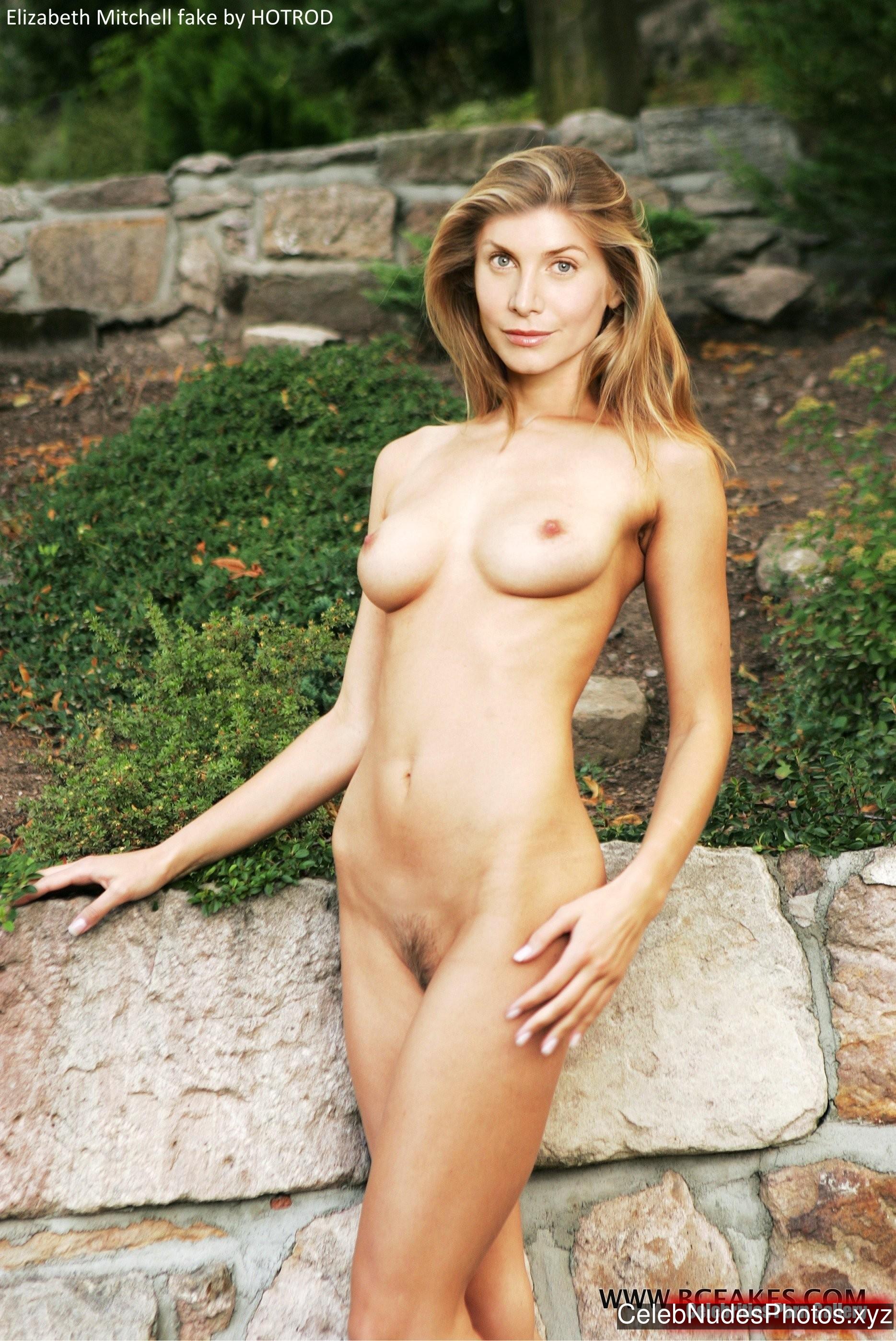 Elizabeth Mitchell Celebrity Nude Pic sexy 14