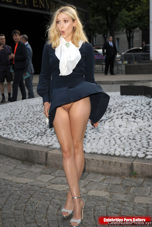 Elizabeth Olsen Celebrity Nude Pic sexy 3