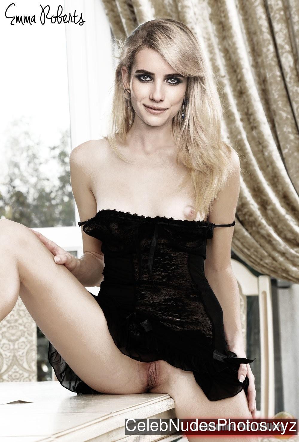 Emma Roberts Nude Celeb sexy 2