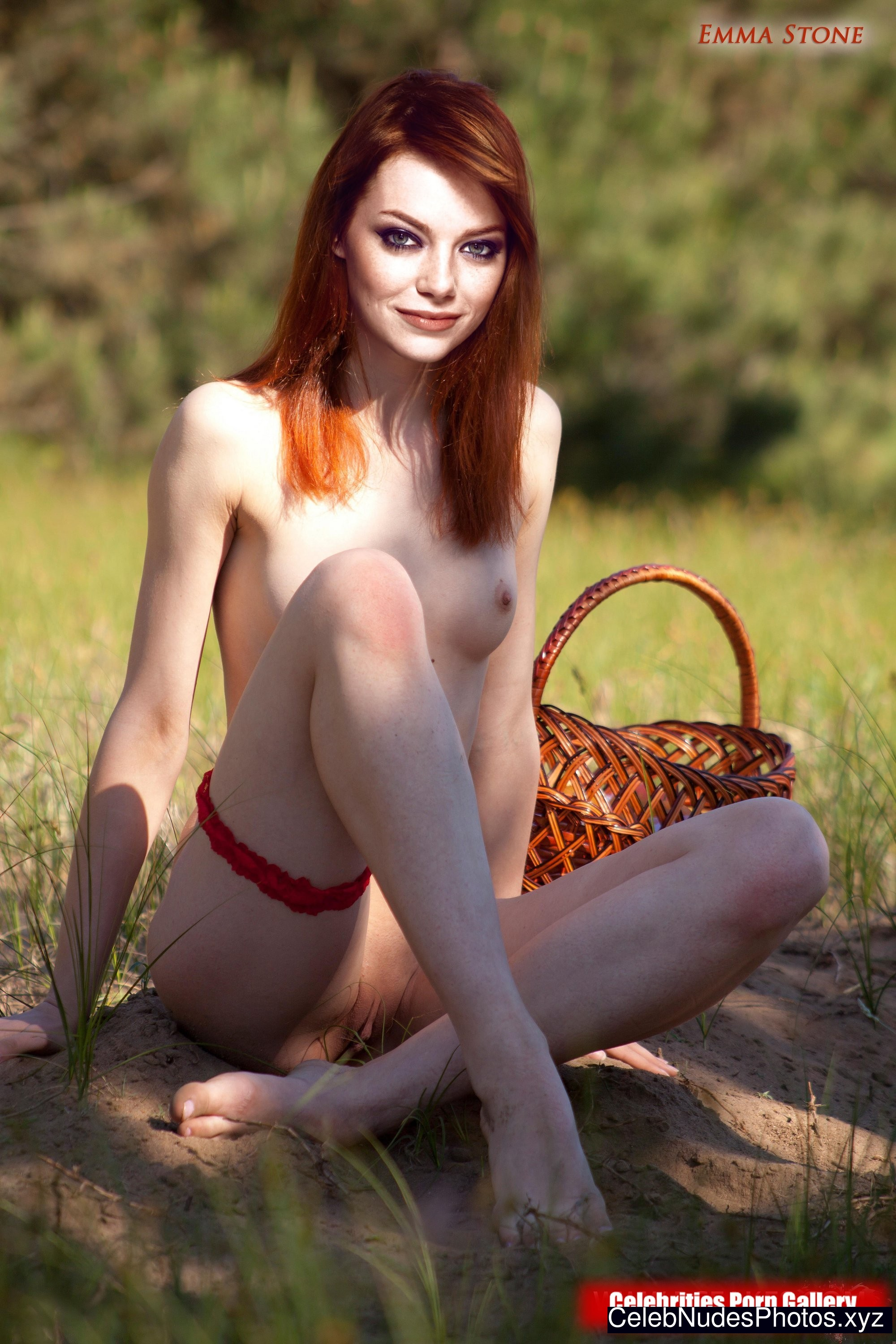 Nude pic of emma stone