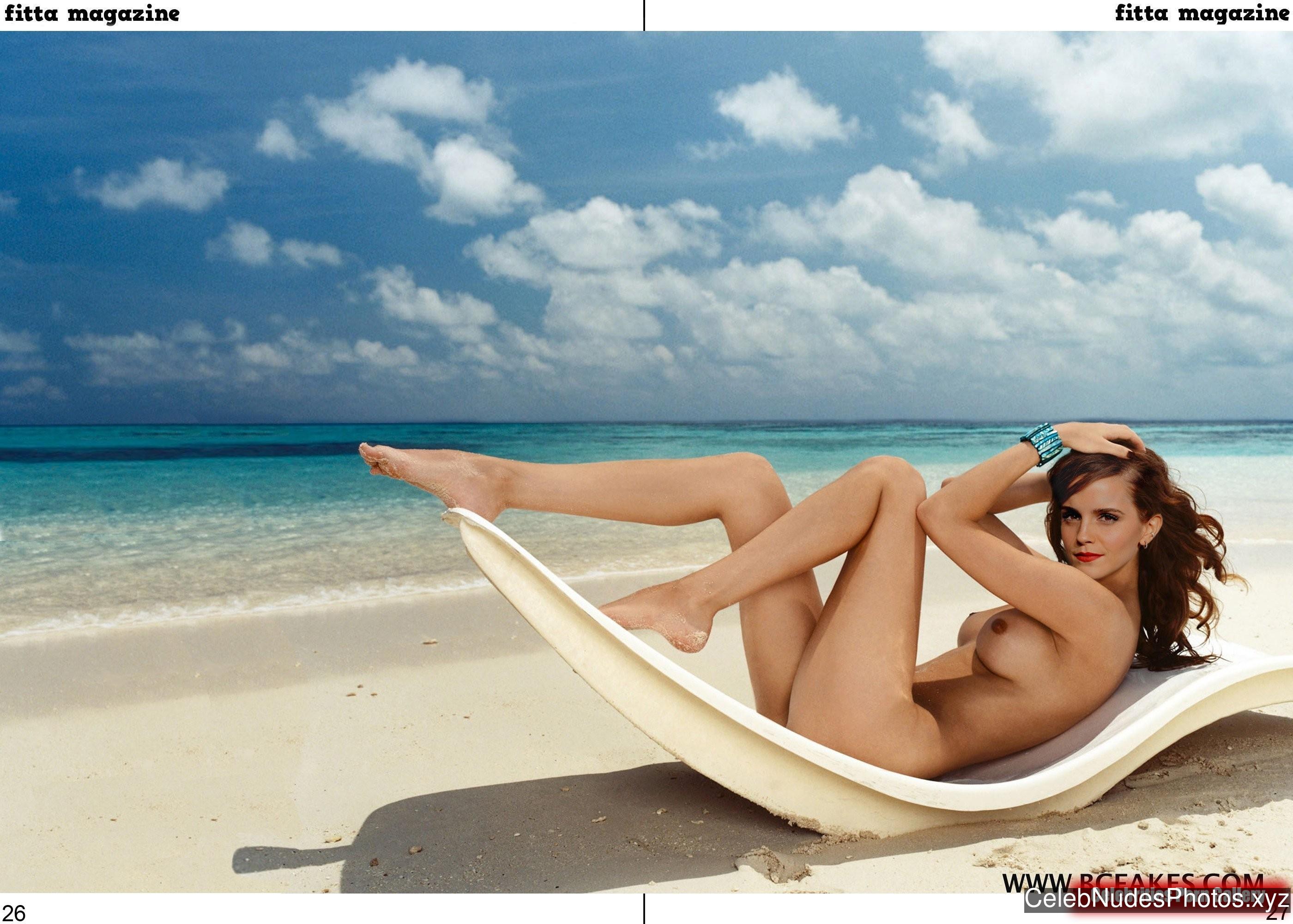 Emma Watson Naked Celebrity sexy 23