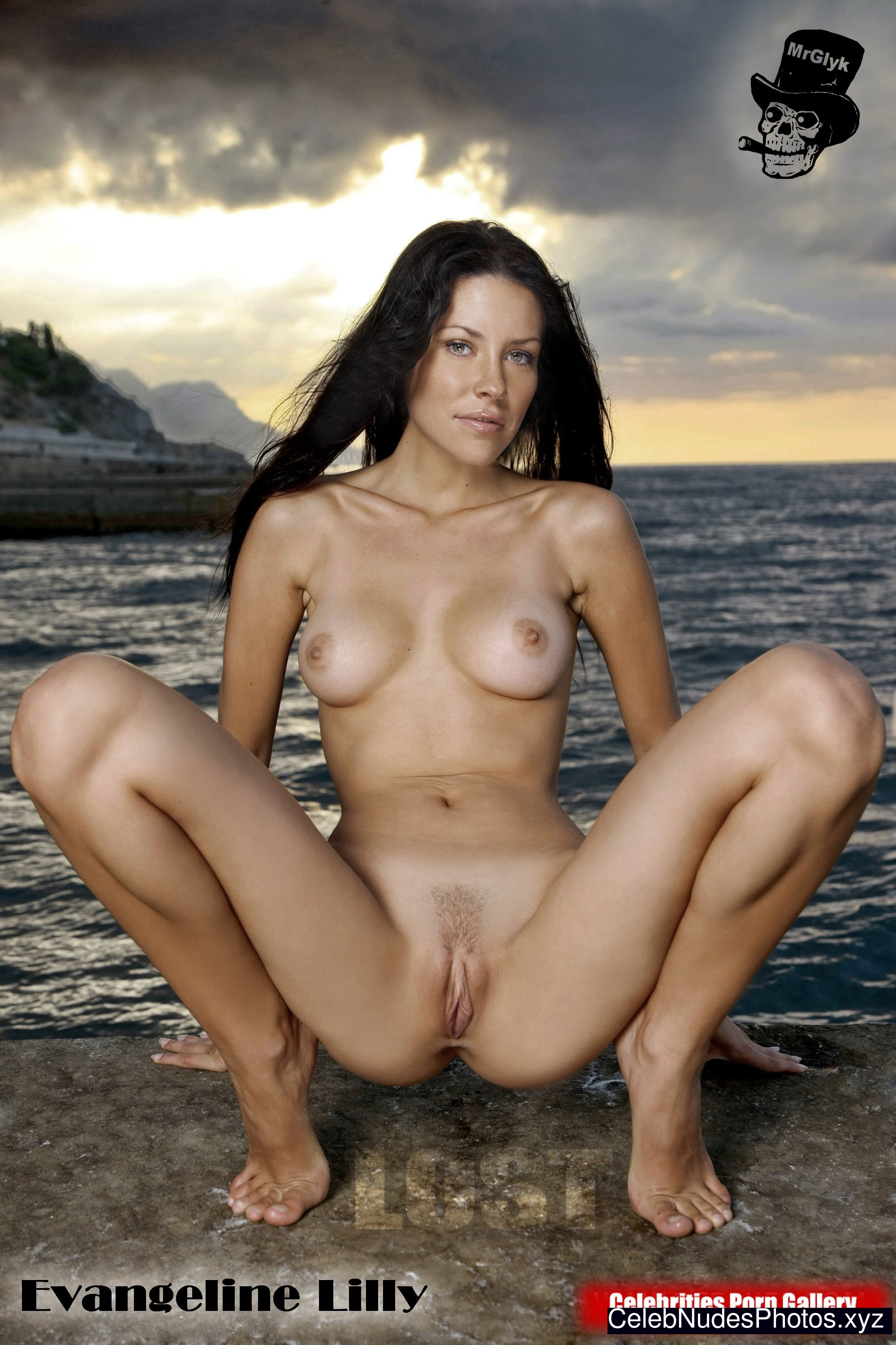 Opinion. Evangeline lilly nude pic