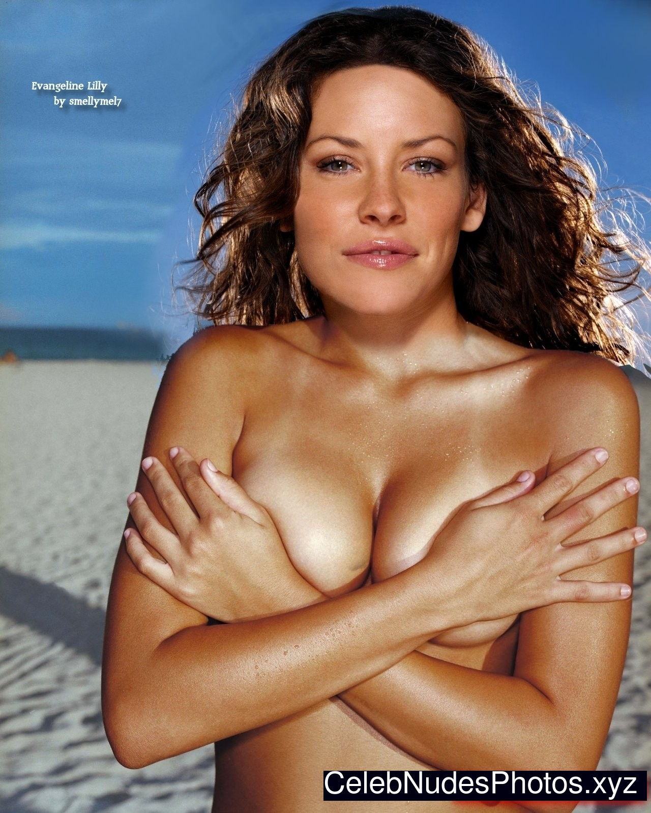 Evangeline Lilly Best Celebrity Nude sexy 1