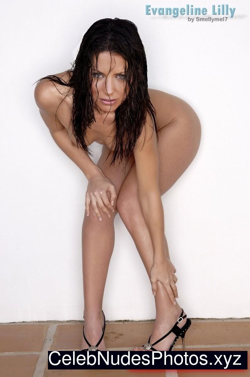 Evangeline Lilly Free Nude Celeb sexy 16