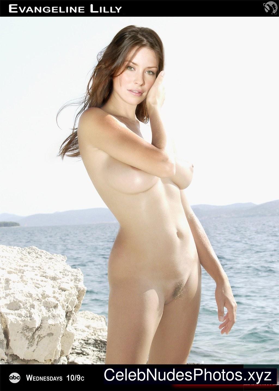 Evangeline Lilly Free nude Celebrity sexy 20