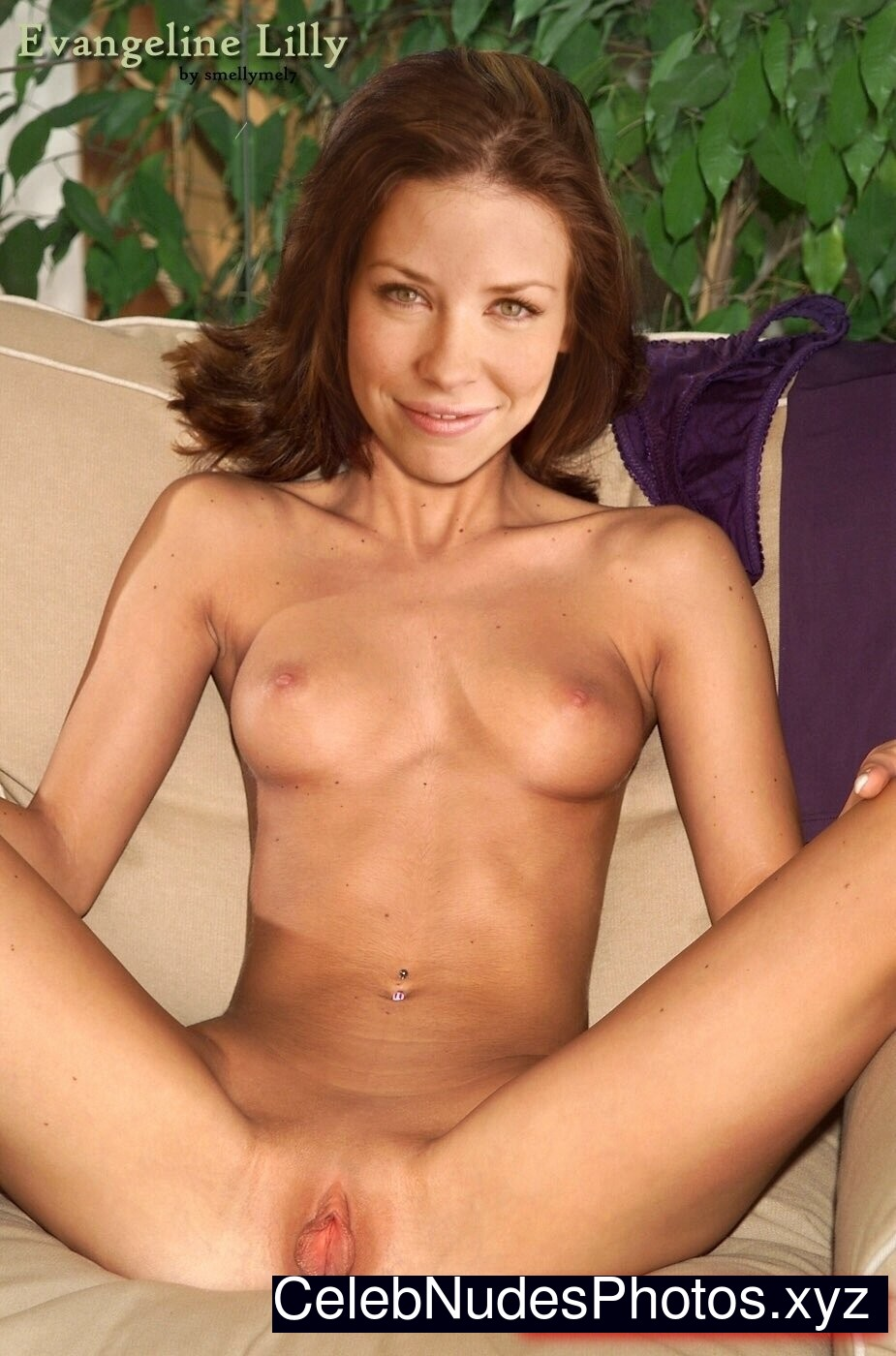 Evangeline Lilly Celebs Naked sexy 22
