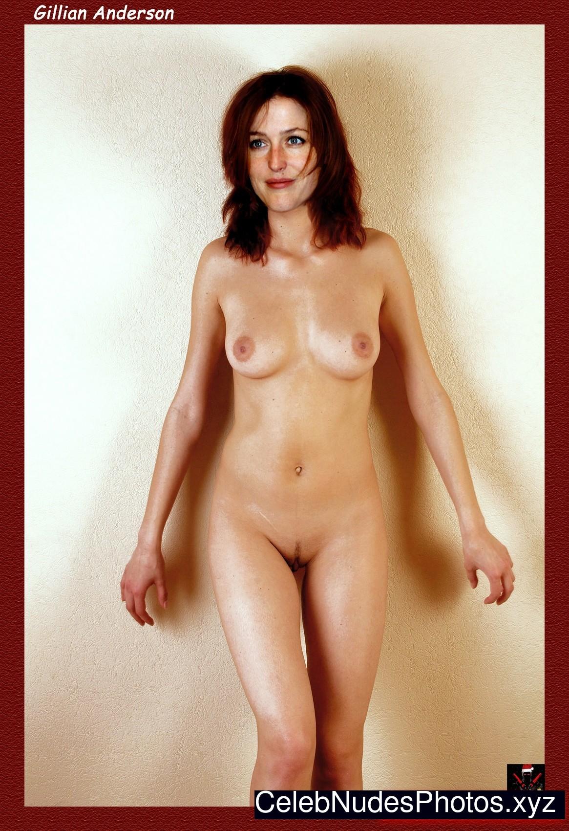 Porn fake gillian anderson nude