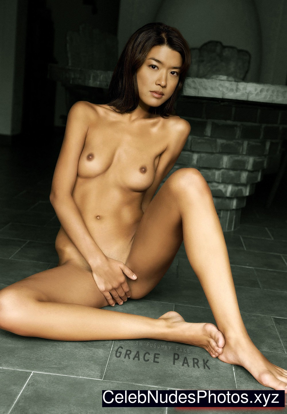 Grace Park Celebrity Leaked Nude Photo sexy 15