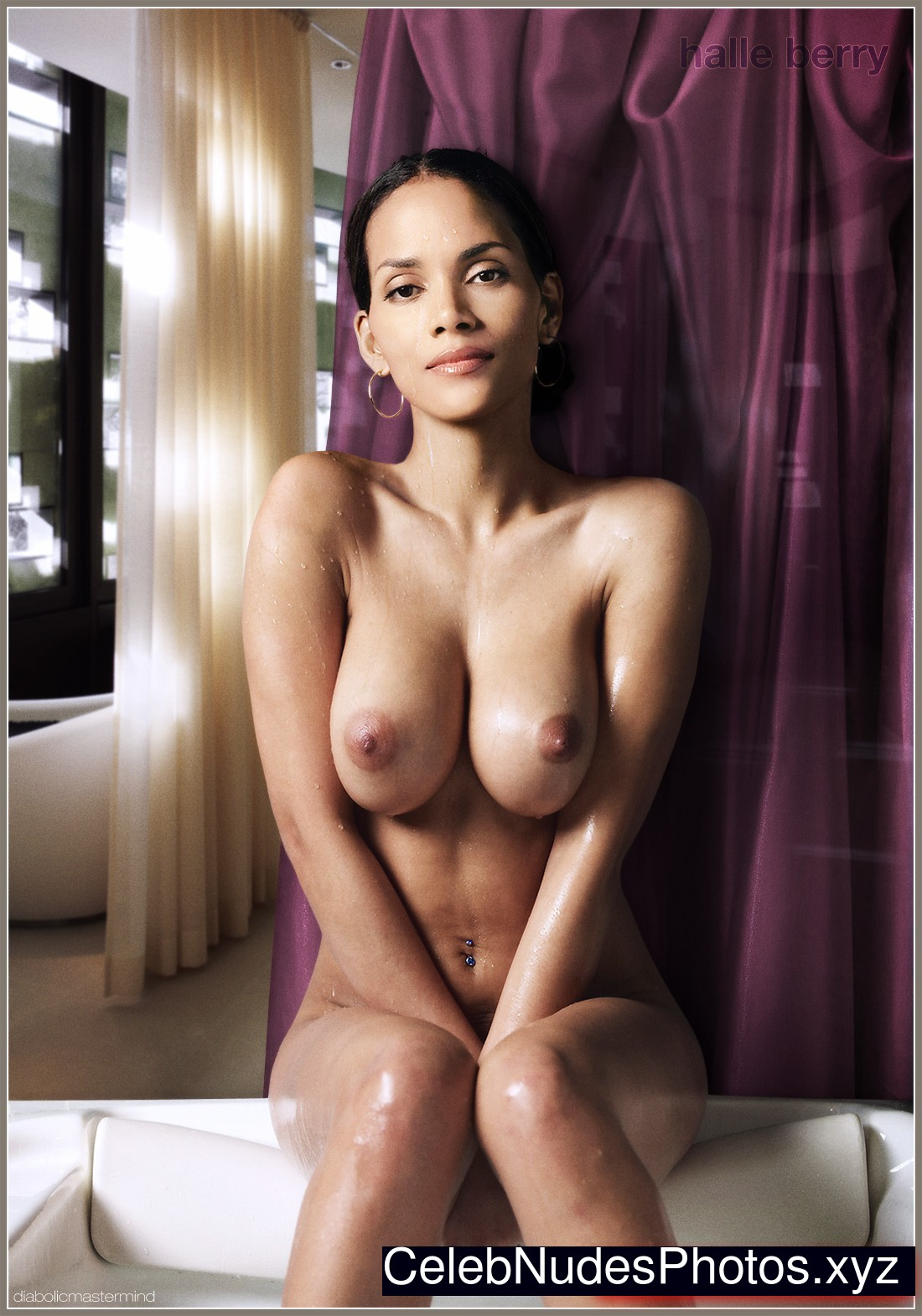 Halle Berry Naked celebrity picture sexy 24