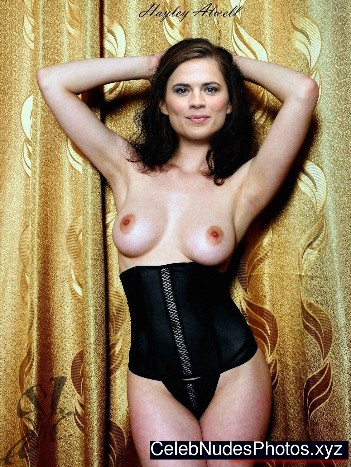 Hayley Atwell Naked celebrity picture sexy 12