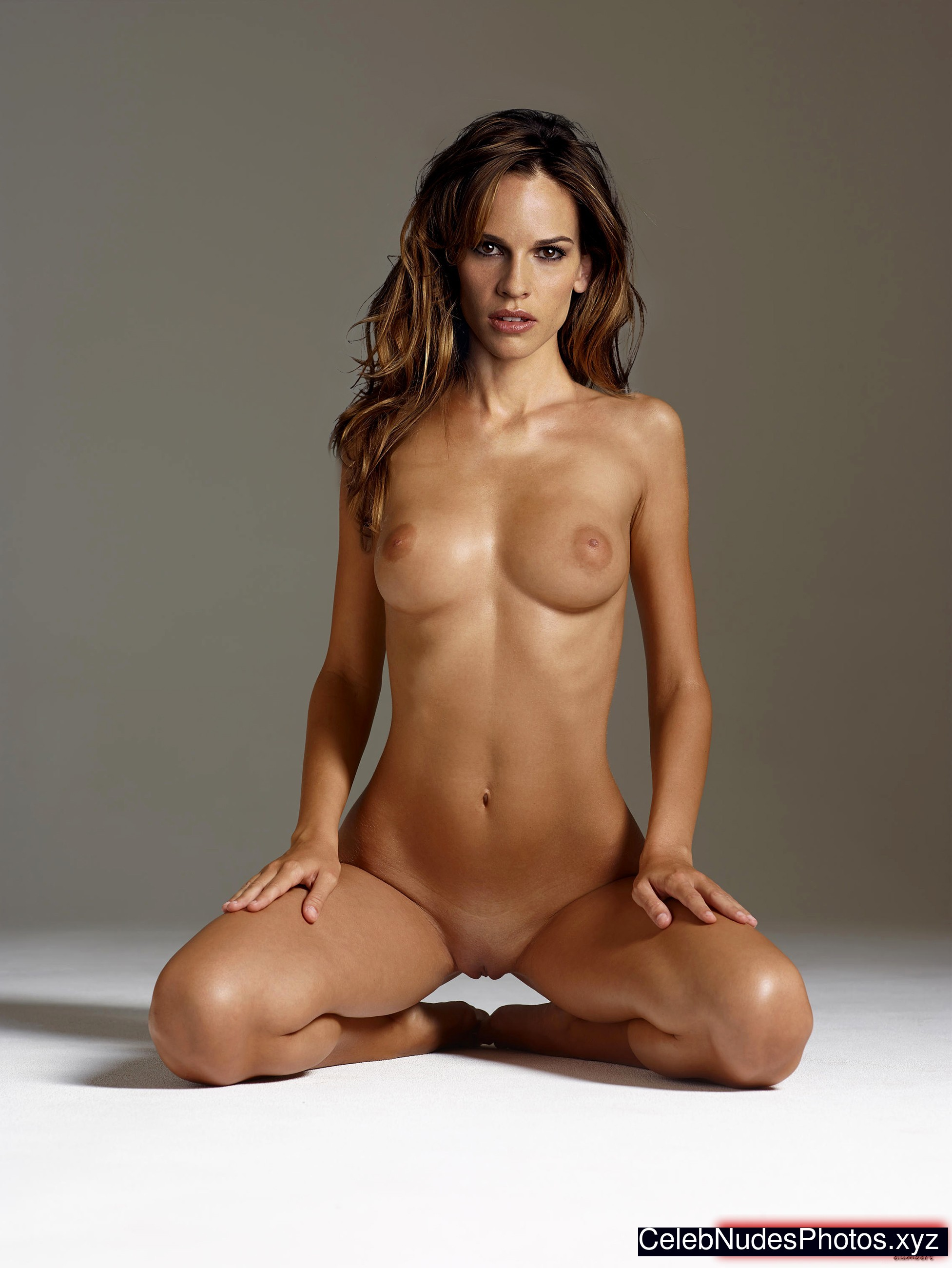 Hilary swank naked
