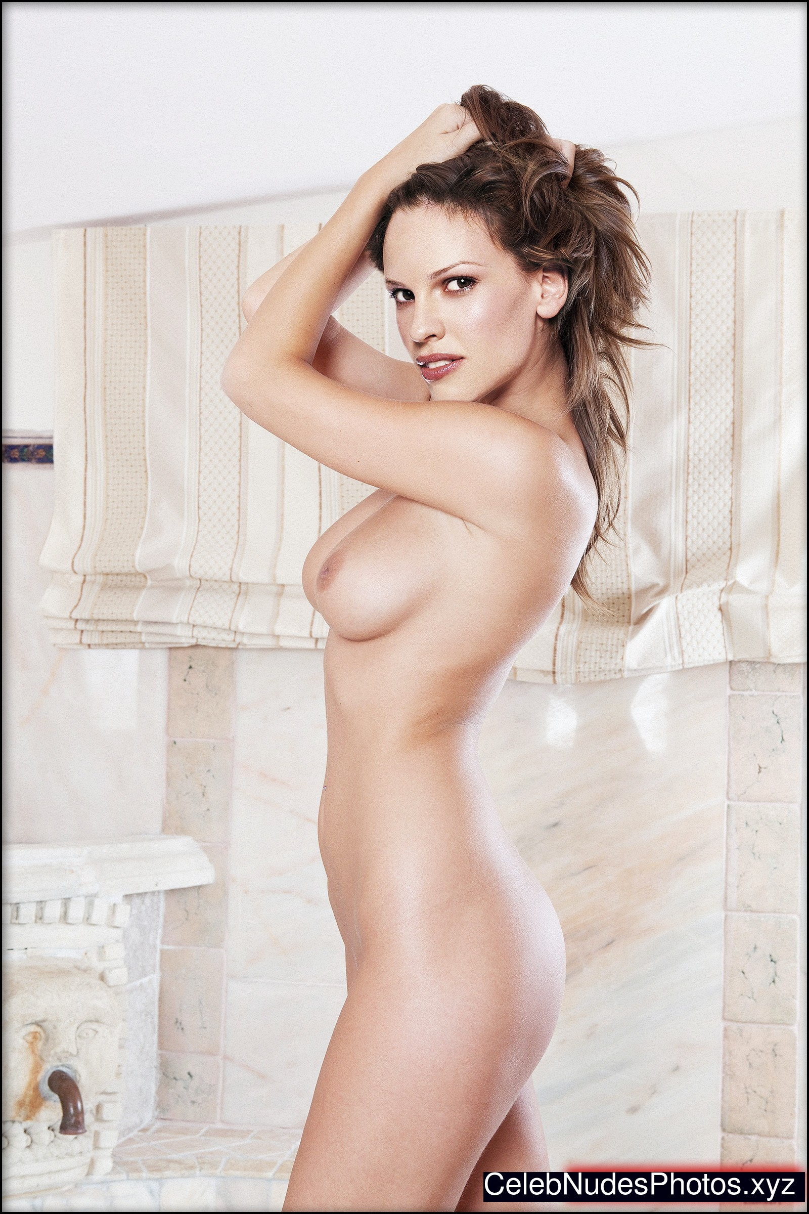 Hilary swank real nude
