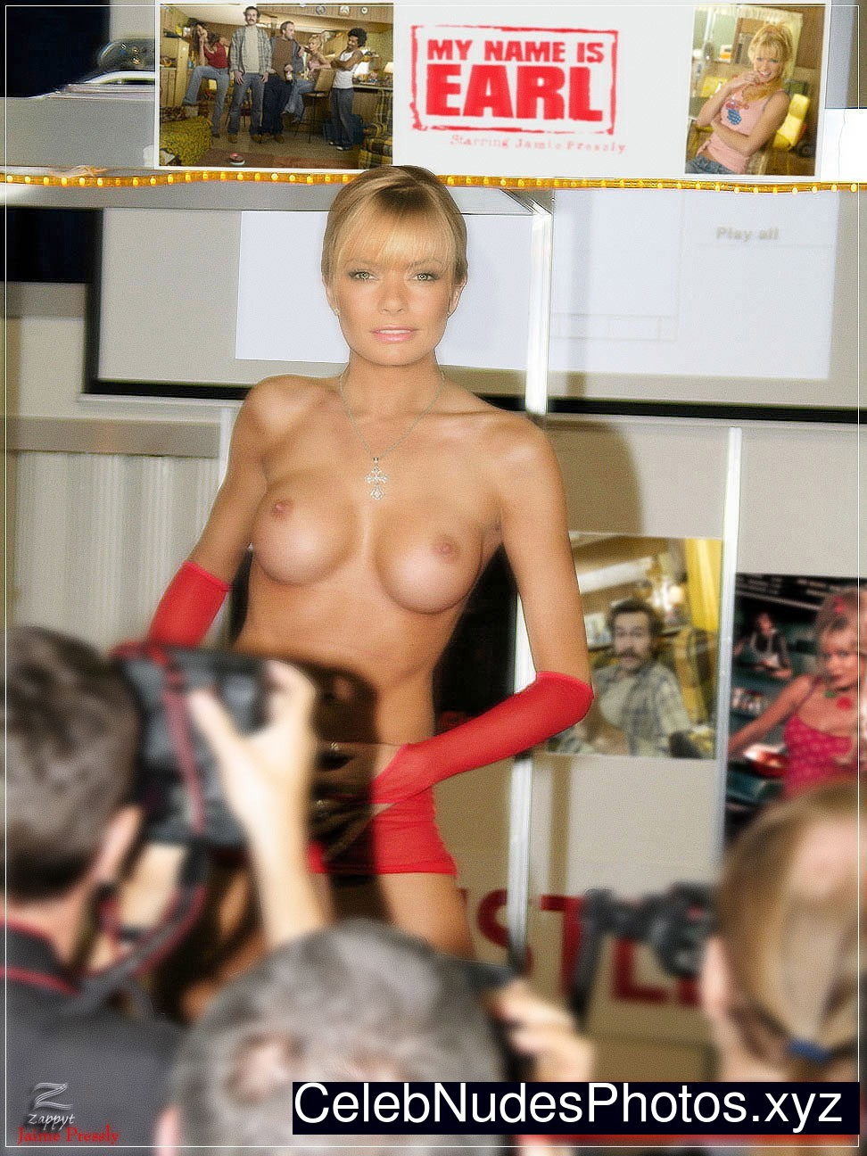 Jaime Pressly Real Celebrity Nude sexy 6