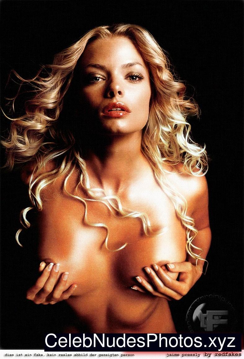 Jaime Pressly Naked Celebrity sexy 12