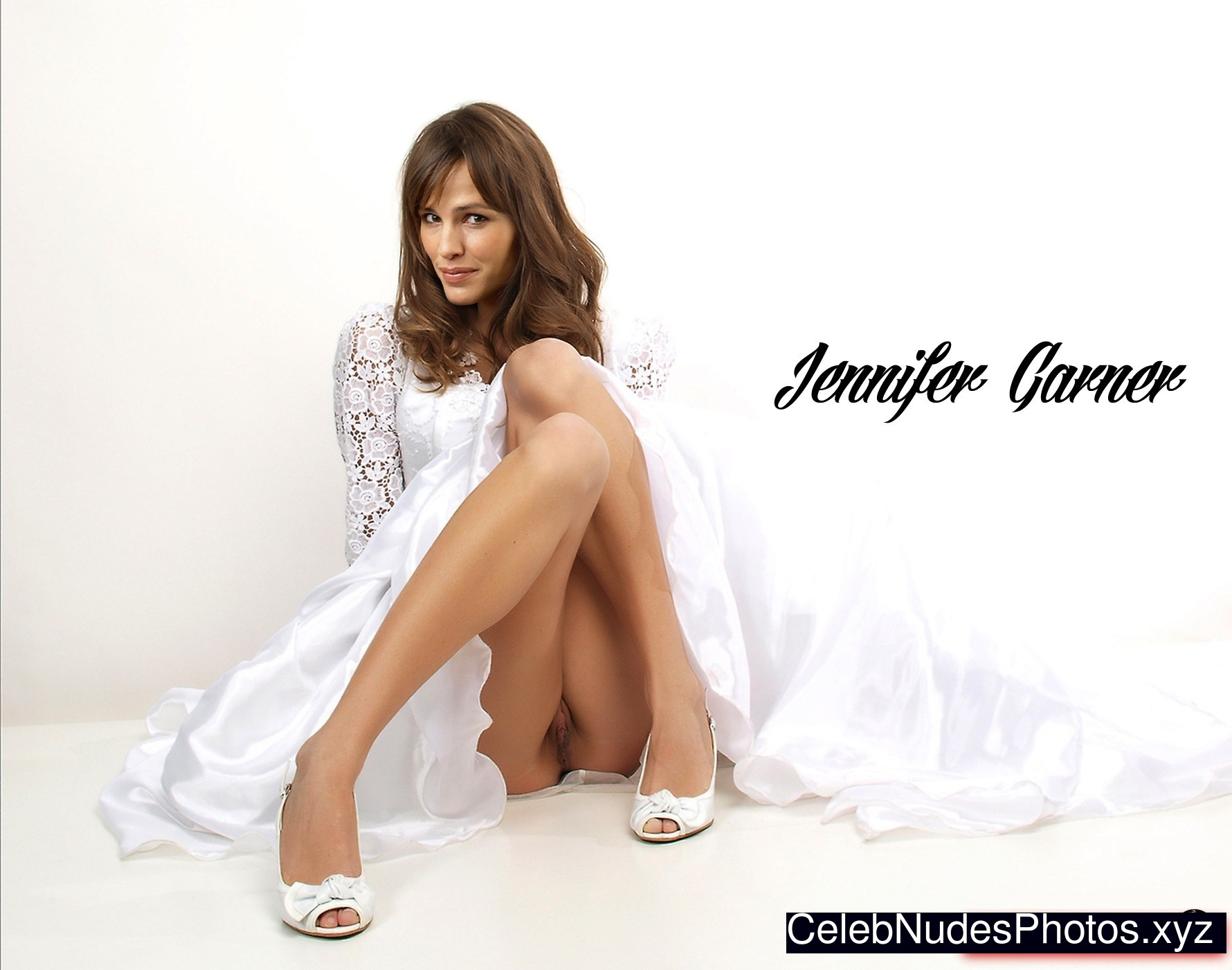 Jennifer Garner Naked Celebrity Pic sexy 13